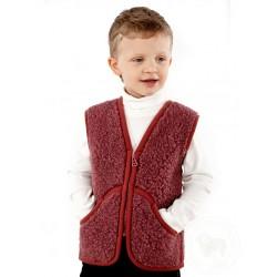 Dětská vesta z ovčí vlny Carpathian vel. XS