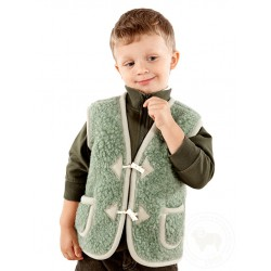 Dětská vesta z ovčí vlny Alpen