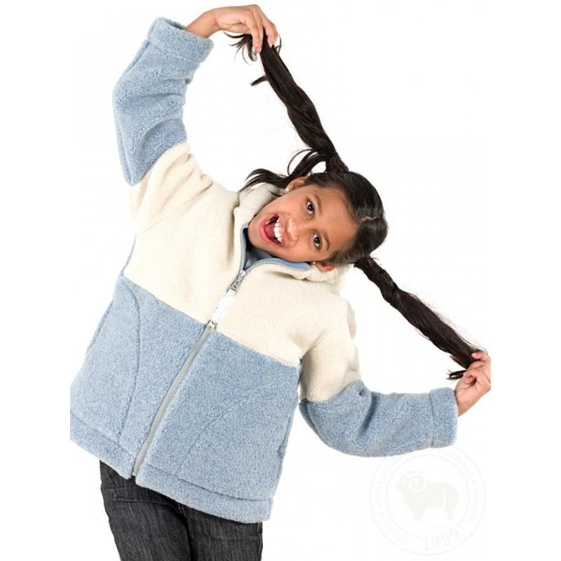 Dětská mikina z ovčí vlny vel. 128,134