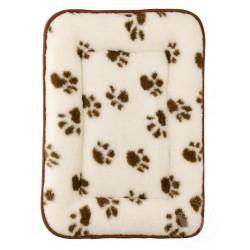 Pelíšek pro psy a kočky z ovčí vlny 65x45 cm