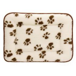 Pelíšek pro psy a kočky z ovčí vlny 70x90 cm