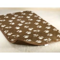 Podložka pro psy a kočky z ovčí vlny70x90 cm jednostranná