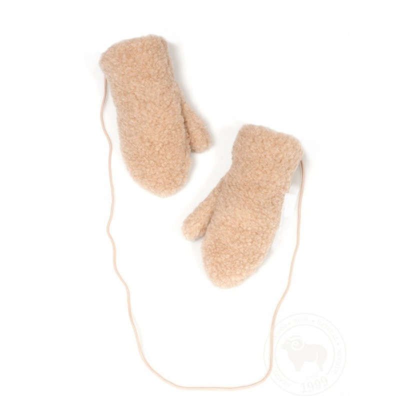 Dětské rukavičky s elastickou šňůrkou