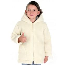 Dětská bunda z ovčí vlny vel. 128,134