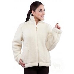 Dámská bunda z ovčí vlny...