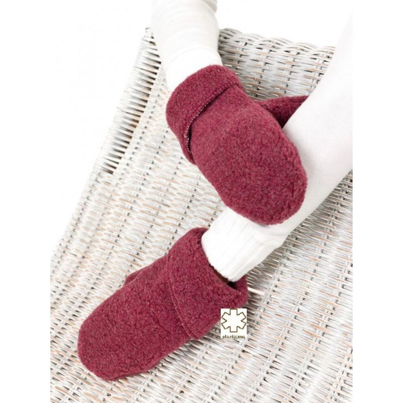 Dětské rukavice z ovčí vlny vel. XS-XL