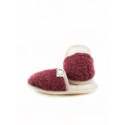 Dětské pantofle z ovčí vlny