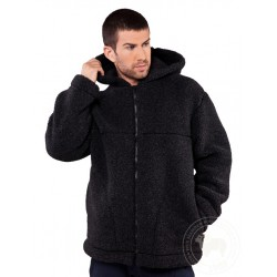 Zimní bunda z ovčí vlny...