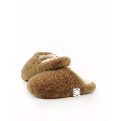 Pantofle z ovčí vlny