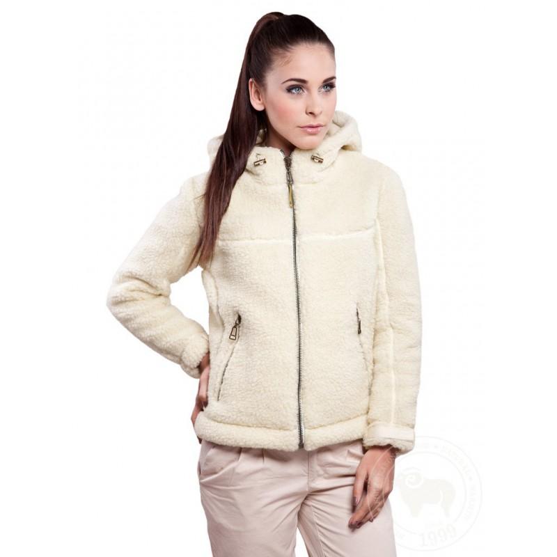 Zimní bunda z ovčí vlny  - Adventure www.vyrobkyzovcivlny.cz