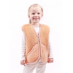 Dětská vesta z ovčí vlny Carpathian vel. M