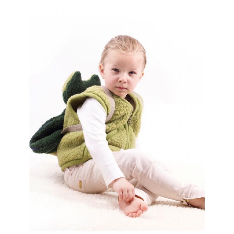 Dětská vesta z ovčí vlny Carpathian vel XS