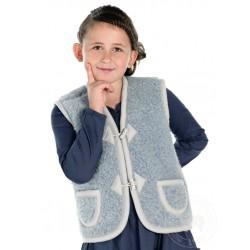 Dětská vesta z ovčí vlny Alpen vel. XS