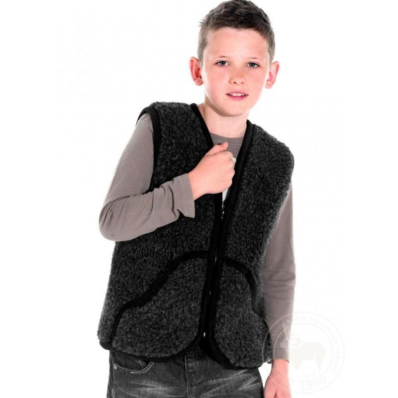 Dětská vesta z ovčí vlny Carpathian vel. XL