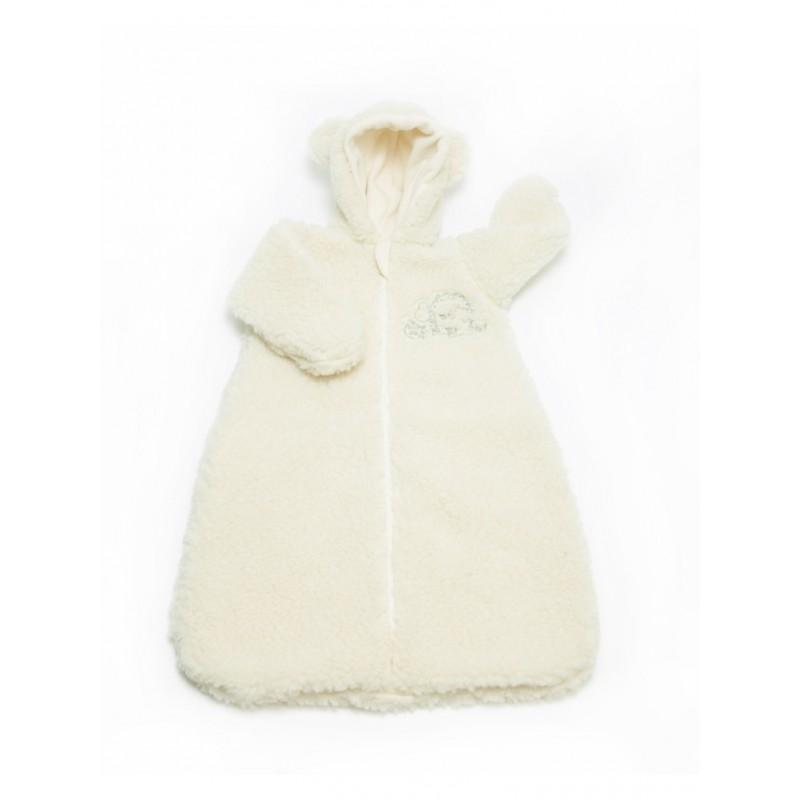Dětský fusak z ovčí vlny Pocket vel. 0-12 měsíců