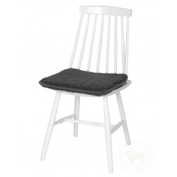 Podsedák na židli z ovčí vlny 40x40 cm